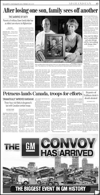 Montreal Gazette May 24, 2011