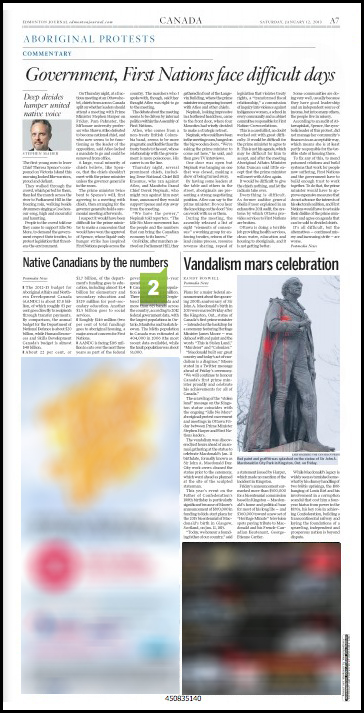The Edmonton Journal Jan. 12, 2013