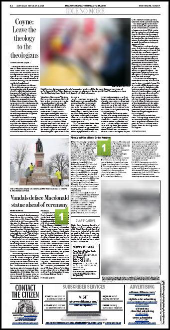 The Ottawa Citizen Jan. 12, 2013