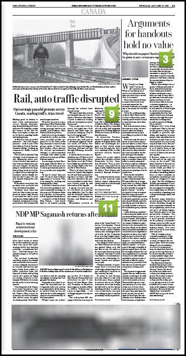 The Ottawa Citizen Jan. 17, 2013