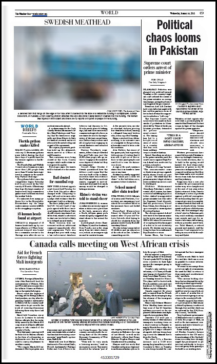 The Windsor Star Jan. 16, 2013