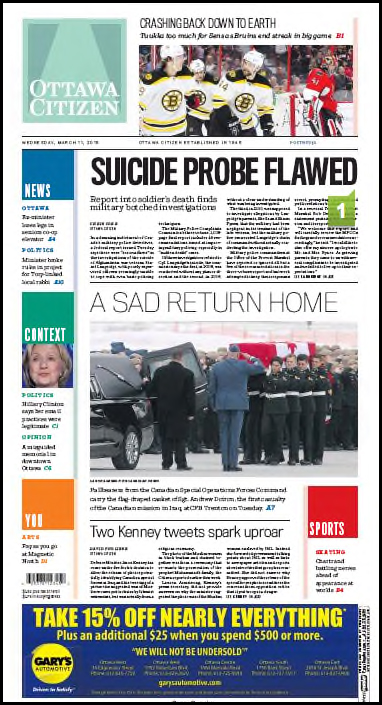 Ottawa Citizen A1